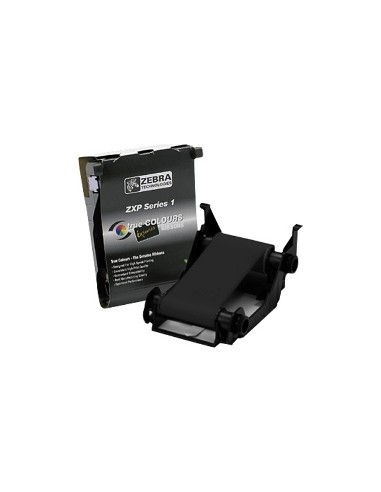 Zebra ZXP Series 1™ Ribbons (Eco-cartridge) Black cartridge Black Monochrome