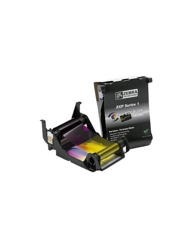 Zebra ZXP Series 1™ Ribbons (Eco-cartridge) Black cartridge YMCKO